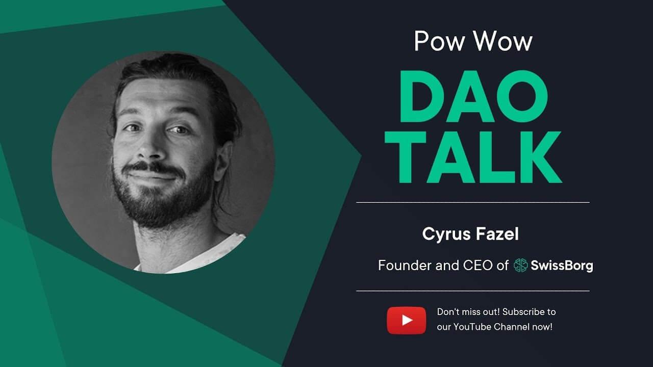 SwissBorg DAO Talk Pow Wow