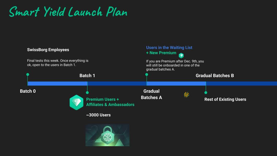 Smart-Yield-Konto-Launch-Plan