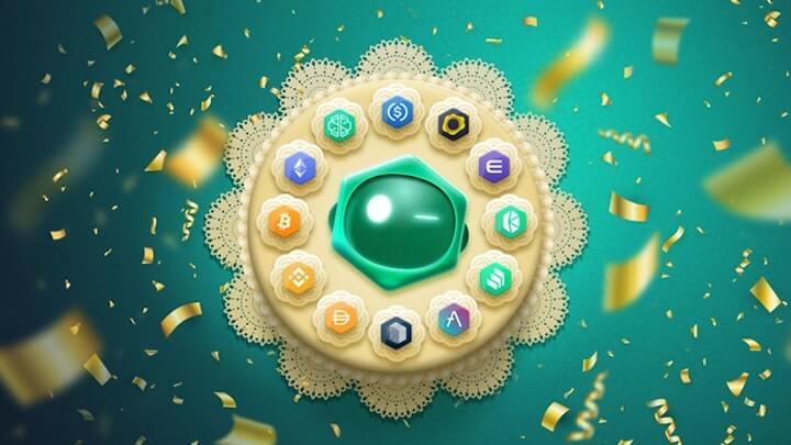 SwissBorg-App feiert 1. Geburtstag