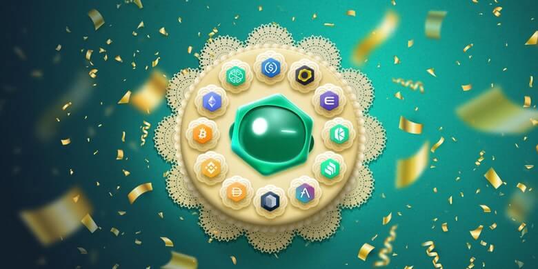 Geburtstag SwissBorg-App