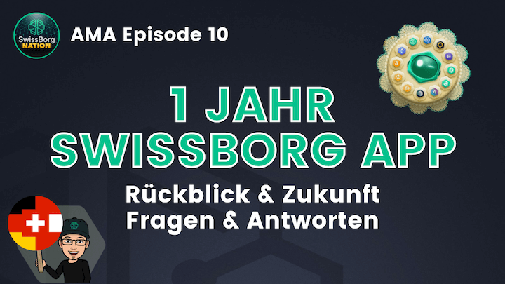 AMA Deutsch Episode 10 - 1 Jahr SwissBorg App
