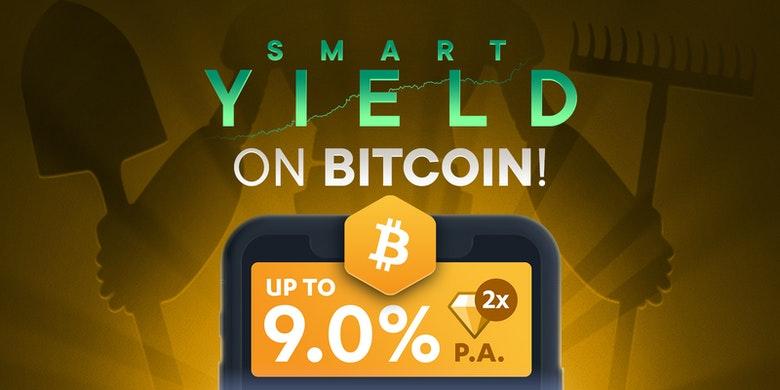 SwissBorg Smart-Yield-Wallet Bitcoin