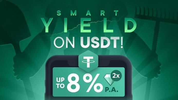 USDT Smart-Yield-Wallet SwissBorg