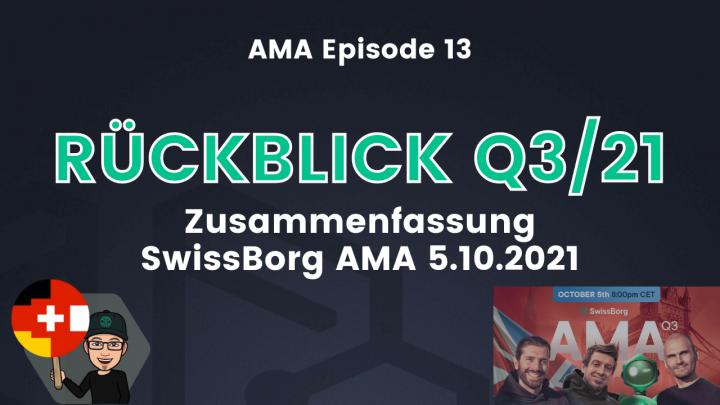 AMA Deutsch Episode 13 - Rückblick Q3 2021