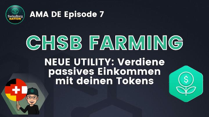 AMA Deutsch Episode 7: CHSB Smart-Yield