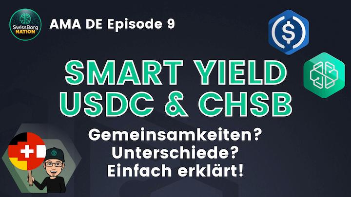 AMA Deutsch Episode 9 Smart Yield USDC CHSB